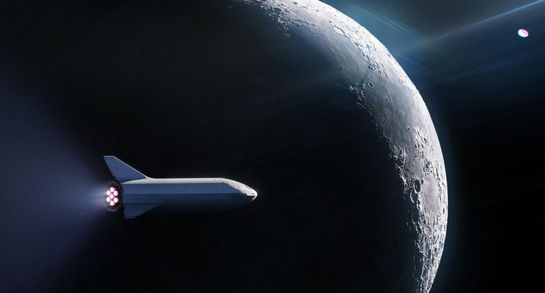 SpaceX отправит туриста к Луне на ракете BFR. Полетит ли сам Маск?