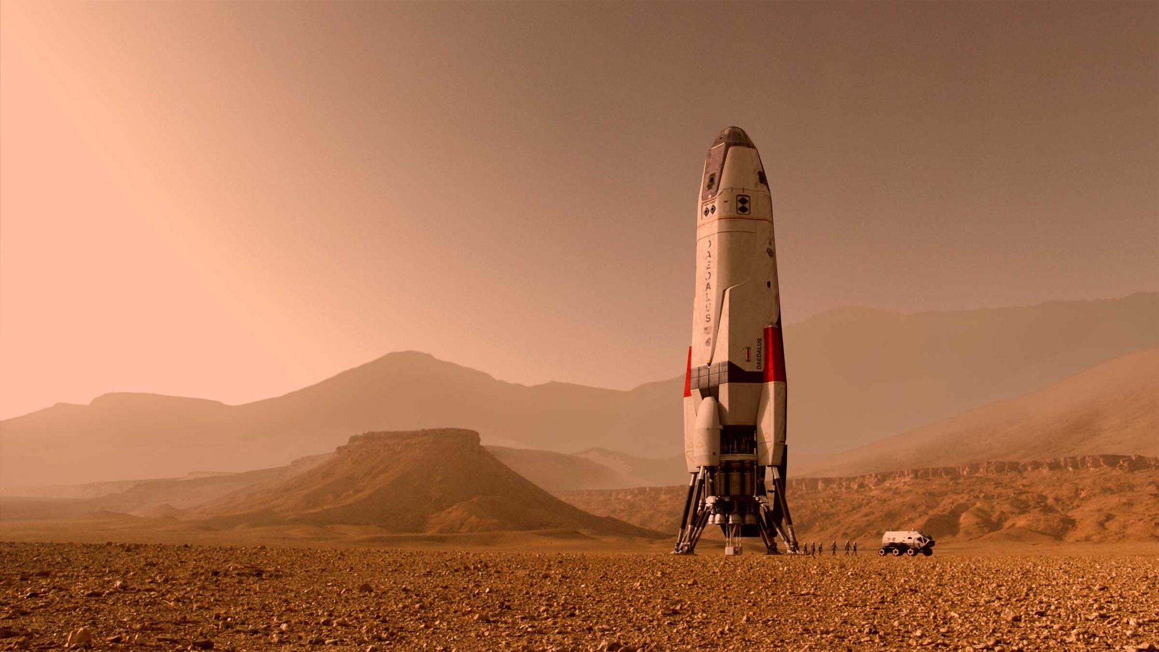 На древнем Марсе были подходящие условия для подземной жизни