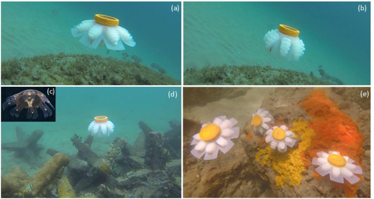 Роботы-медузы будут исследовать морские глубины