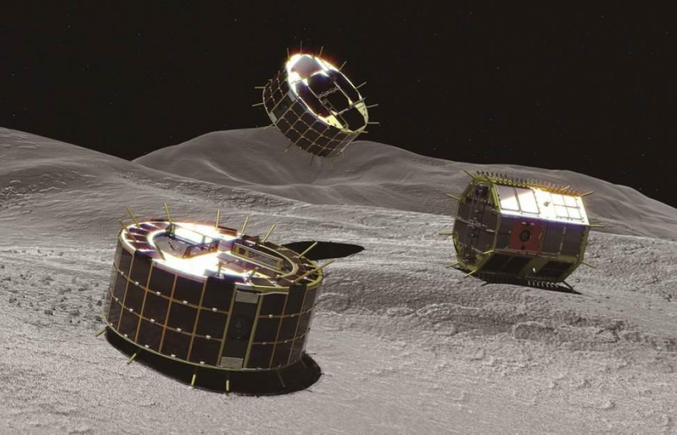 Японский зонд «Хаябуса-2» высадил на астероид Рюгу два ровера