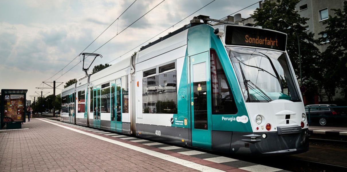 В Германии начались испытания первого беспилотного трамвая