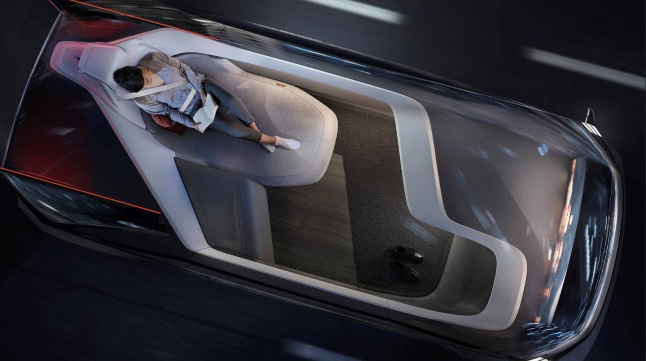 Как будет работать «специальное одеяло безопасности» от Volvo