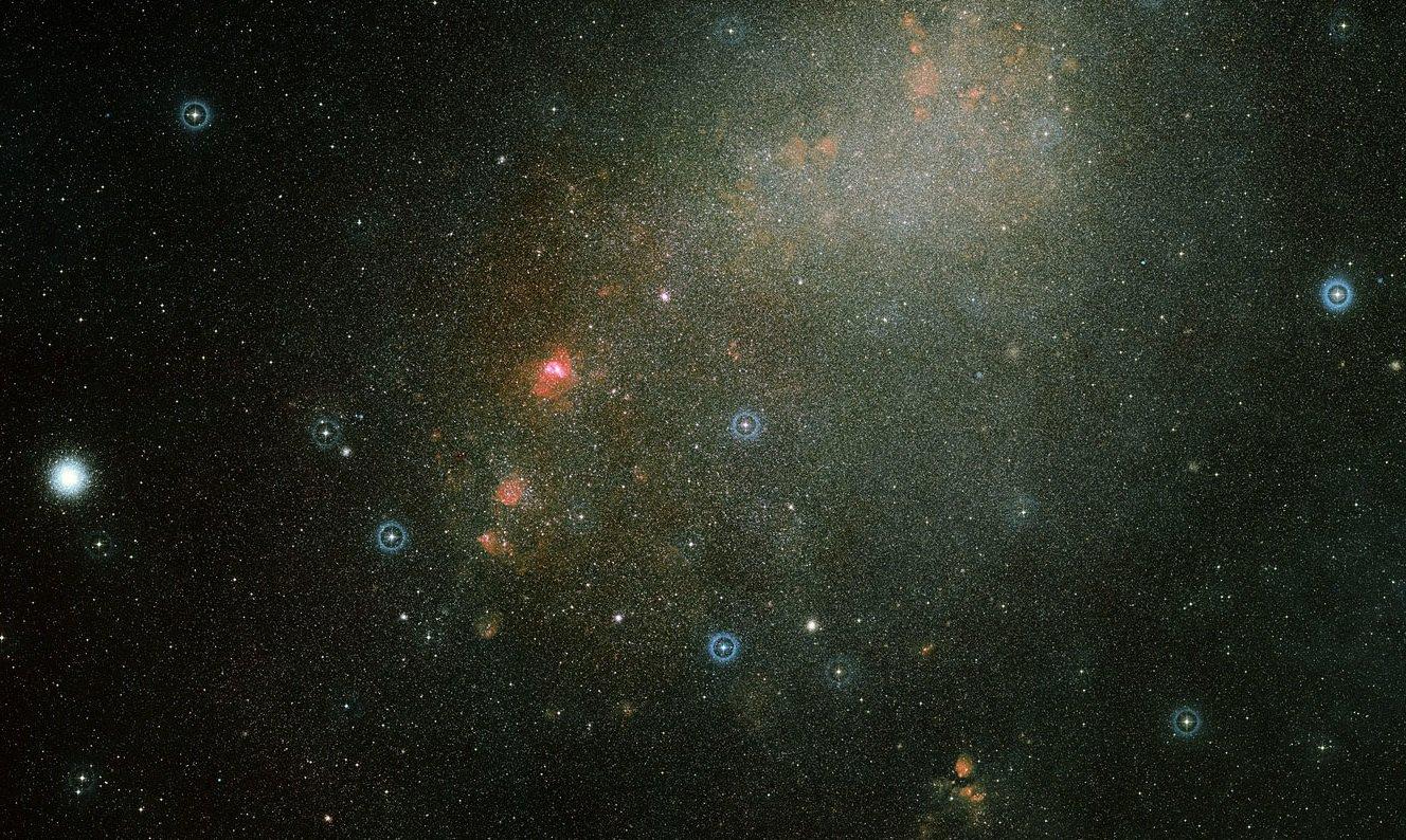 Астрономы подтвердили столкновение между двумя галактиками-спутниками Млечного Пути