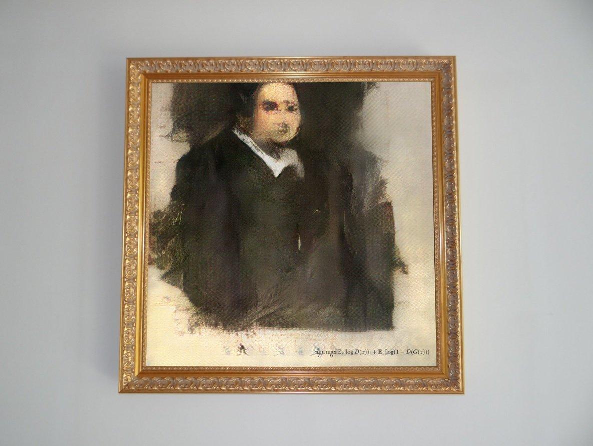 Написанную искусственным интеллектом картину продали почти за полмиллиона долларов