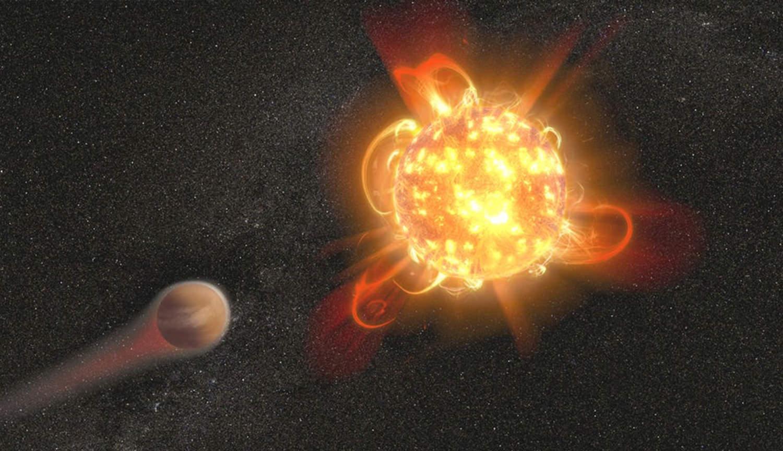Вспышки красных карликов могут уничтожать инопланетную жизнь