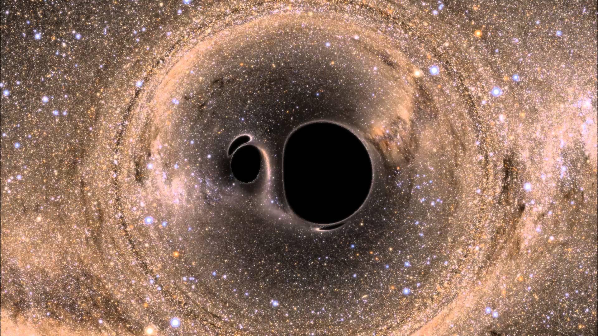 Гравитационные волны могут пролить свет на темную материю