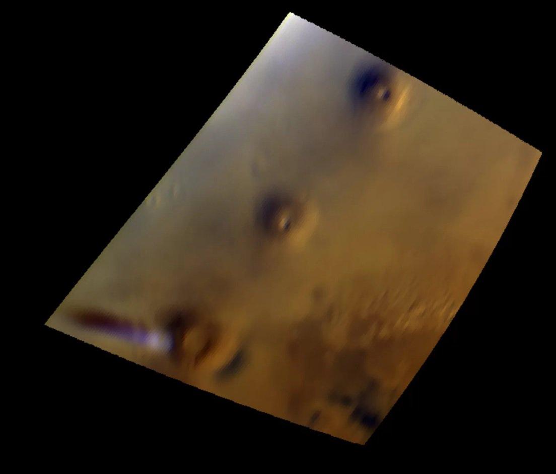 Ученые наблюдают за странным облаком над поверхностью Марса