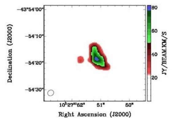 В центре галактики NGC 2356 нашли огромное количество темной материи