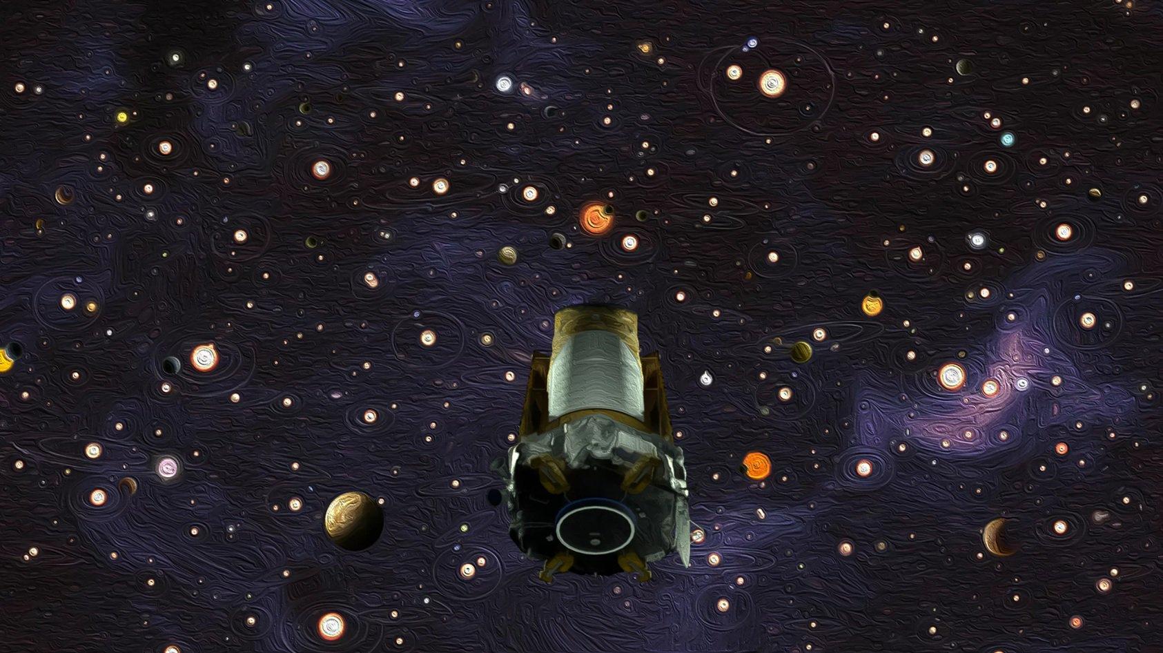 Космический телескоп «Кеплер» официально завершил свою работу