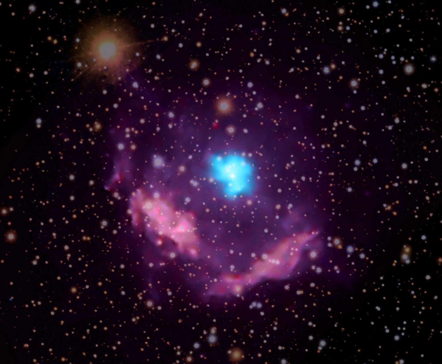 Астрономы обнаружили самый молодой пульсар Млечного Пути