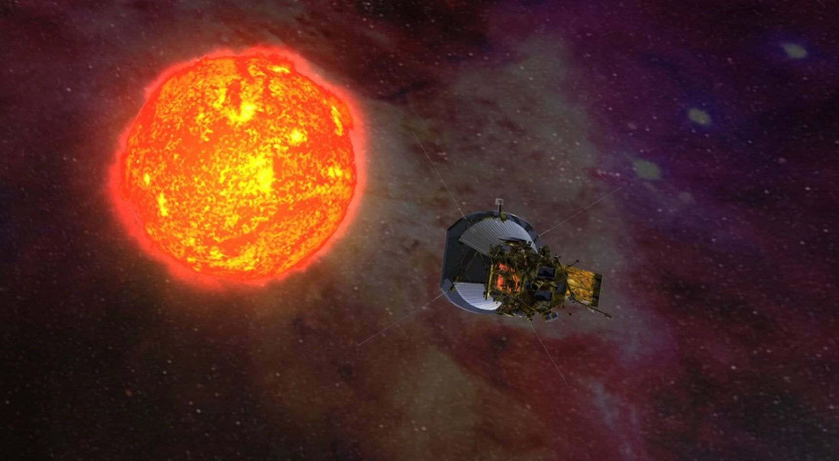 Солнечный зонд Паркер побил несколько рекордов
