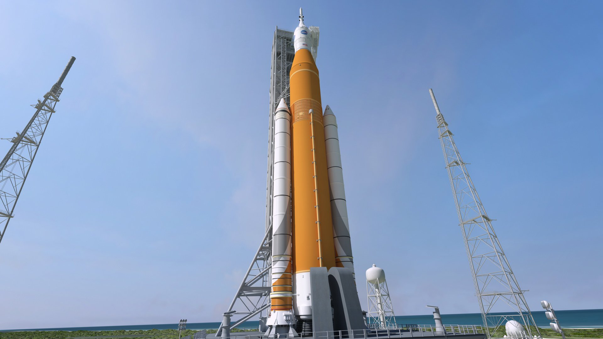 Инспекция показала, что у ракеты-носителя NASA SLS очень большие проблемы