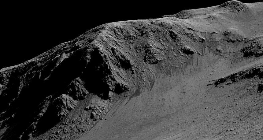 Если орбитальный глюк подтвердится, жидкой воды на Марсе может и не быть