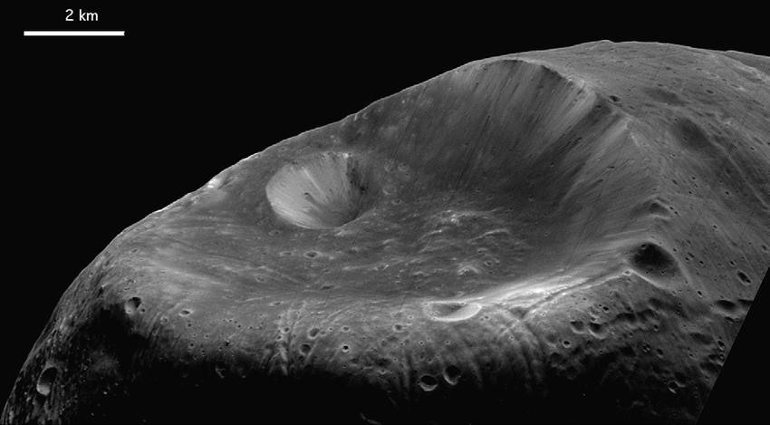 Ученые нашли объяснение загадочным линиям на Фобосе