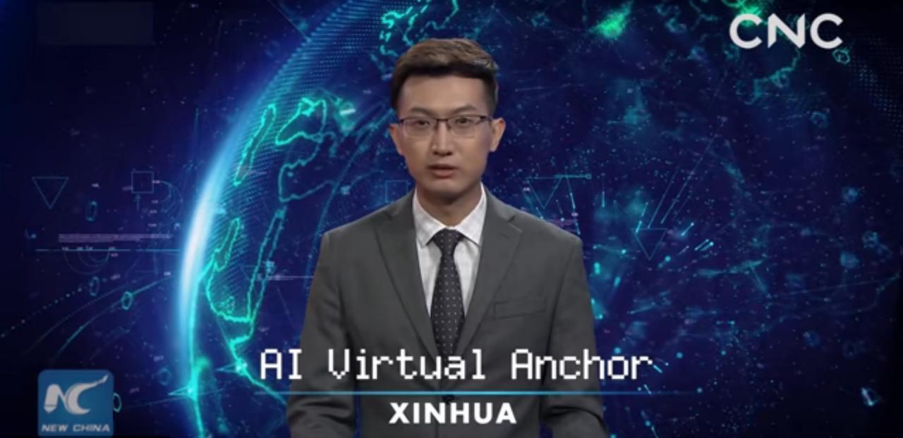 Первый искусственный телеведущий дебютировал в Китае