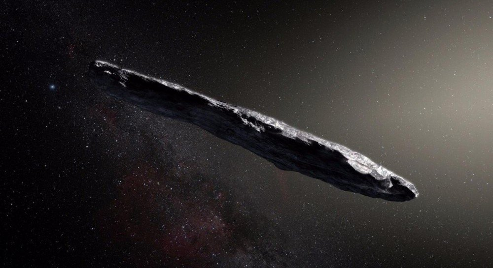 Ученые выдвинули предположение о том, что астероид Оумуамуа прислали инопланетяне