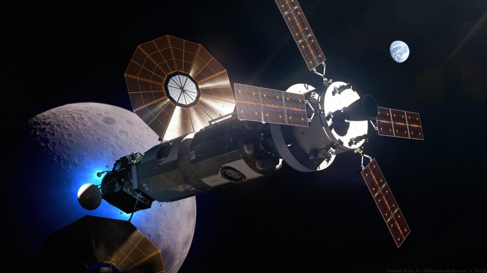Бывший администратор NASA: «Лунный шлюз — глупая архитектура»