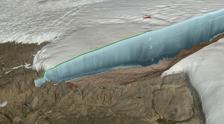 Под гренландским ледником обнаружен 31-километровый ударный кратер