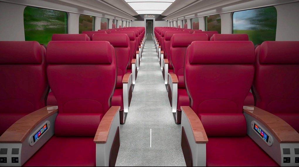 РЖД показали концепт первого российского высокоскоростного поезда