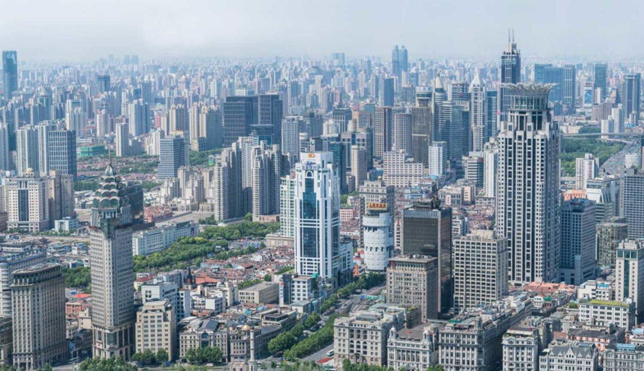 Создана 195-гигапиксельная фотография Шанхая где видно каждого человека