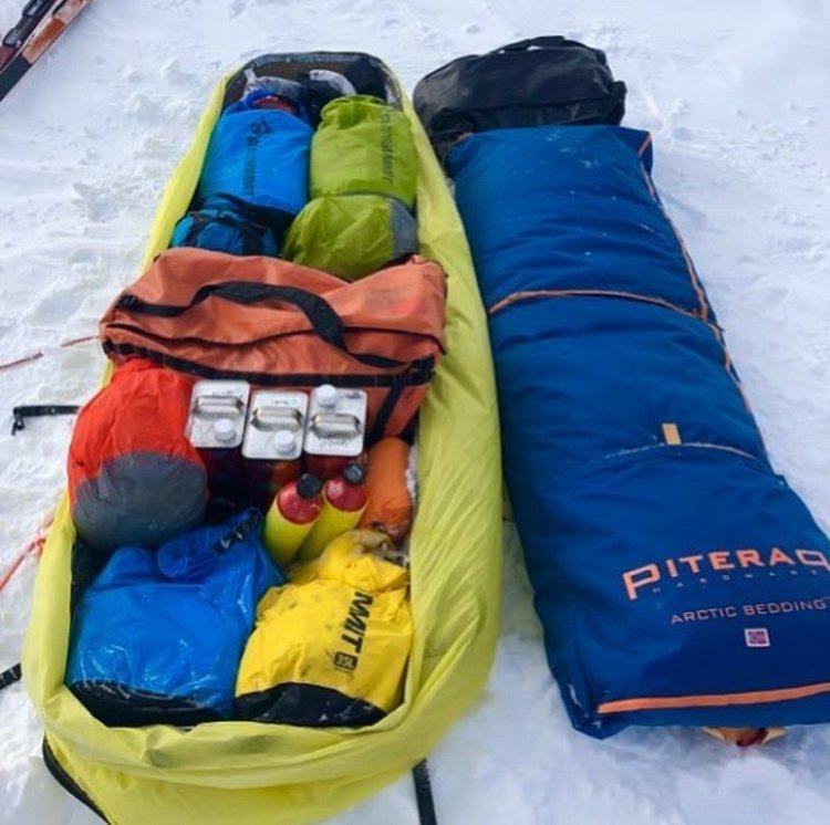 Американец первым в истории в одиночку пересек Антарктиду