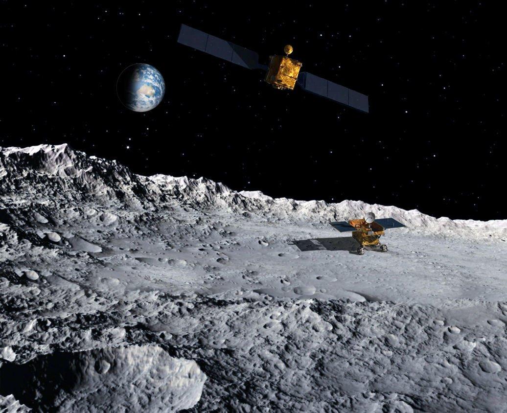 Китайский луноход готовится к посадке на обратной стороне Луны