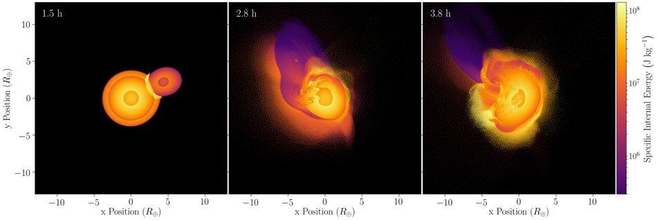 В сильном наклоне оси Урана виновато столкновение с другим небесным телом