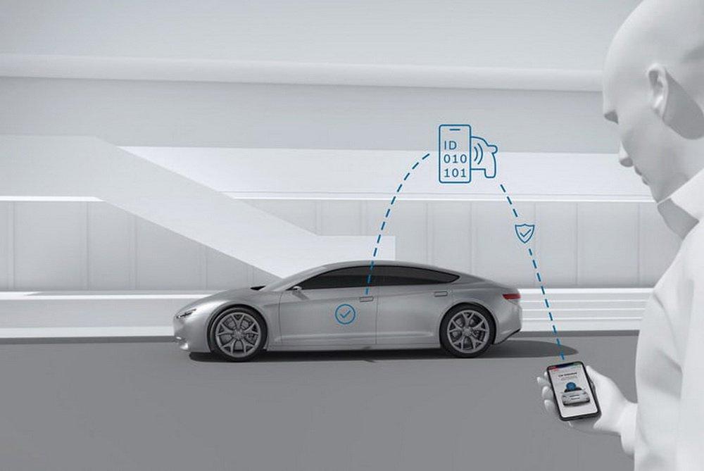 Bosch предлагает избавиться от автомобильных ключей и заменить их смартфоном