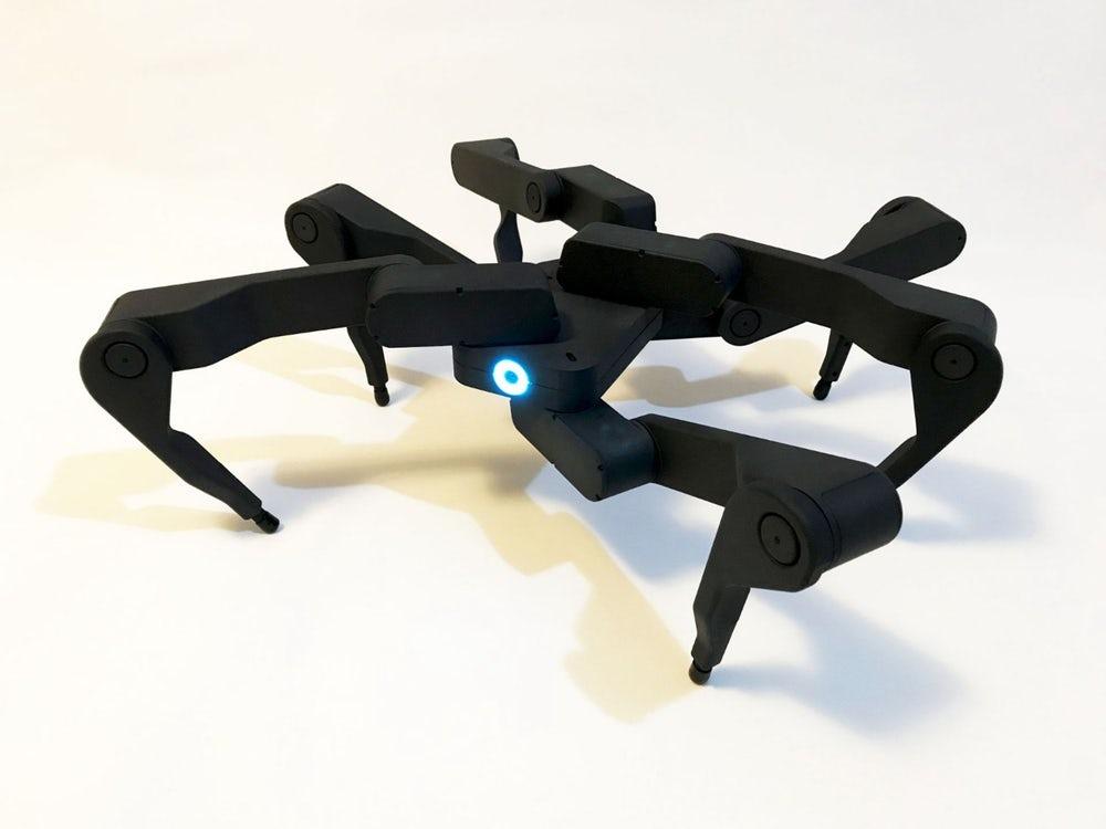 #видео | Зажигательная аэробика от робота-паука компании Robugtix