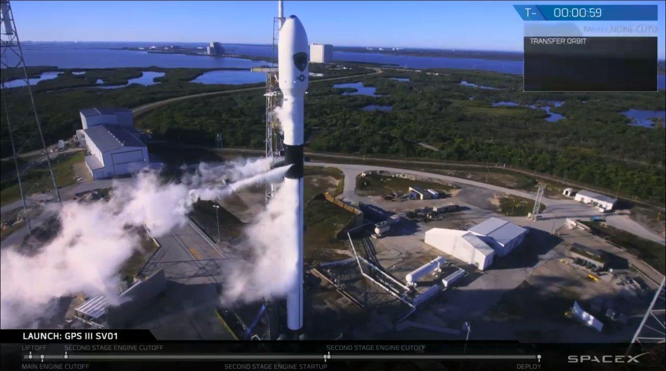 SpaceX завершила последнюю миссию в 2018 году