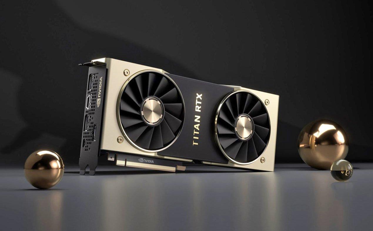 NVIDIA представила флагманскую видеокарту Titan RTX