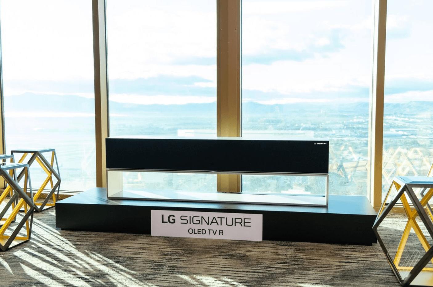 #CES | LG начнет продавать телевизоры рулонами по астрономическим ценам