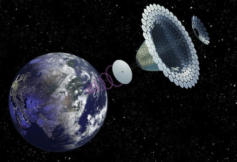 Солнечная энергия, добываемая прямо из космоса. Это вообще возможно?