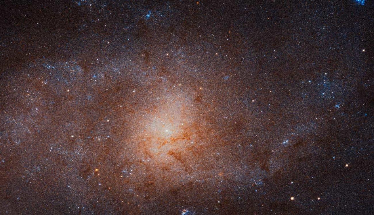 Телескоп Хаббл сделал самое детальное фото Галактики Треугольника