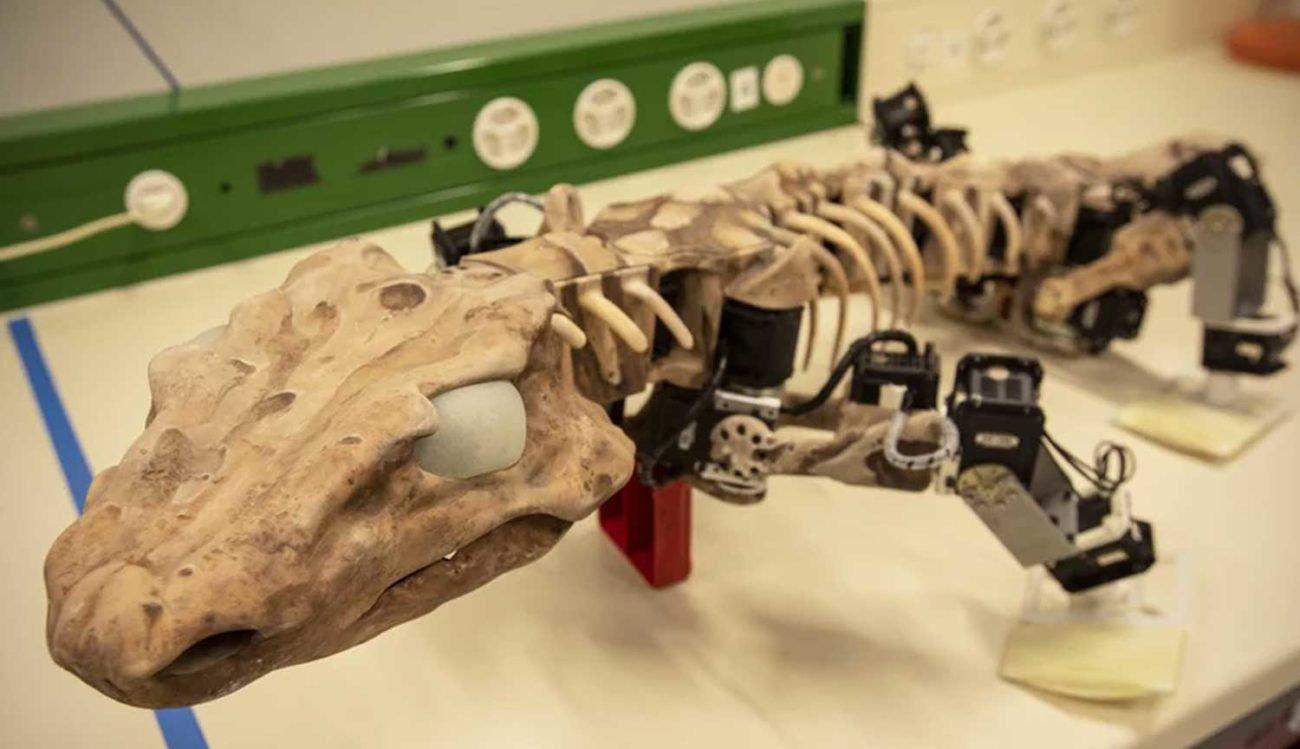 Ученые создали роботизированную копию древнего ящера