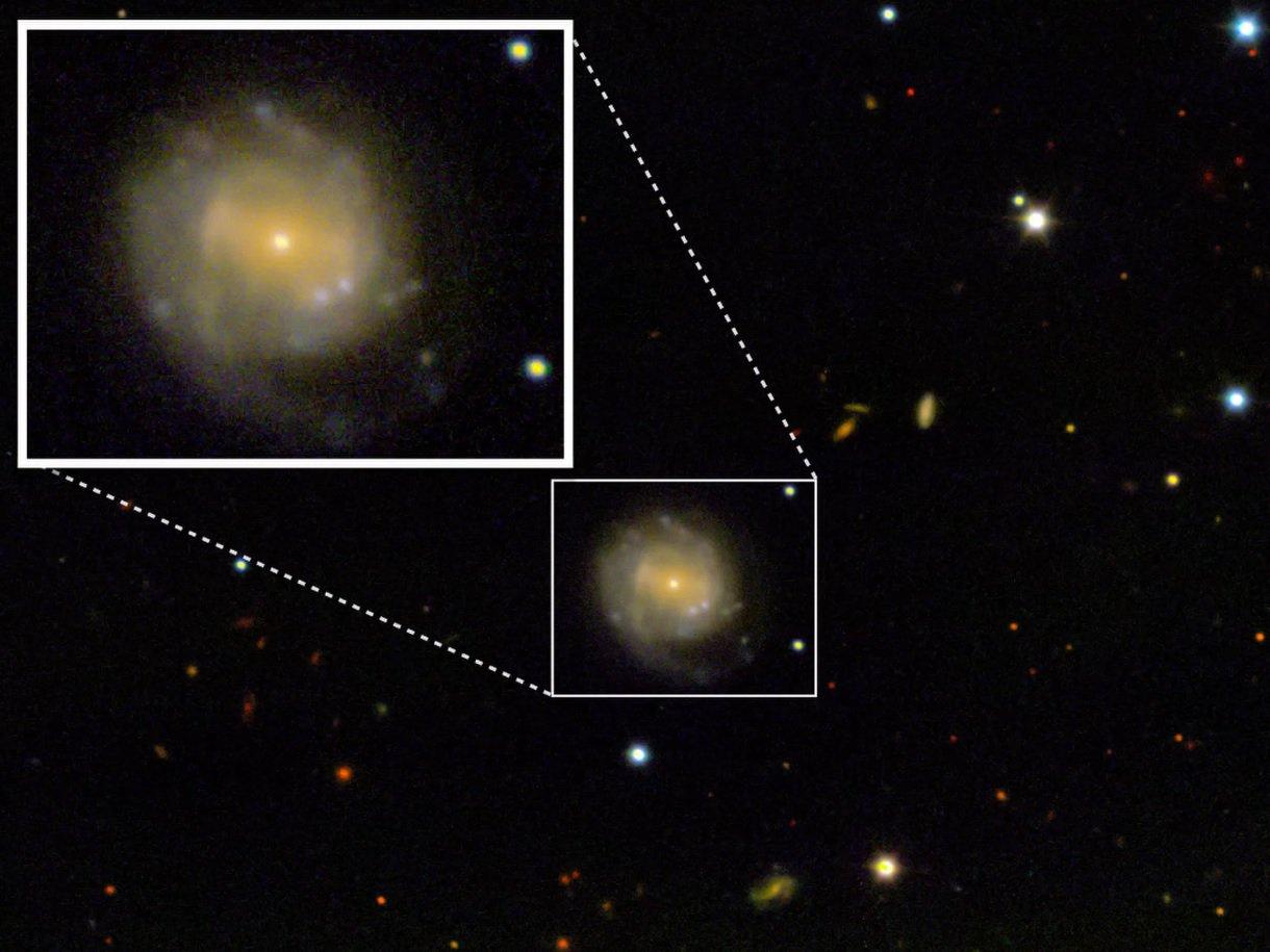 Ученые, возможно, впервые увидели момент рождения черной дыры