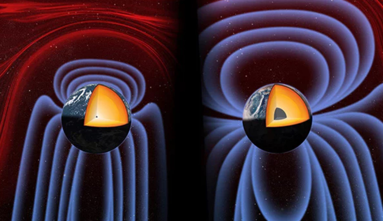 Критический момент в эволюции Земли: ядро планеты гораздо моложе ее самой