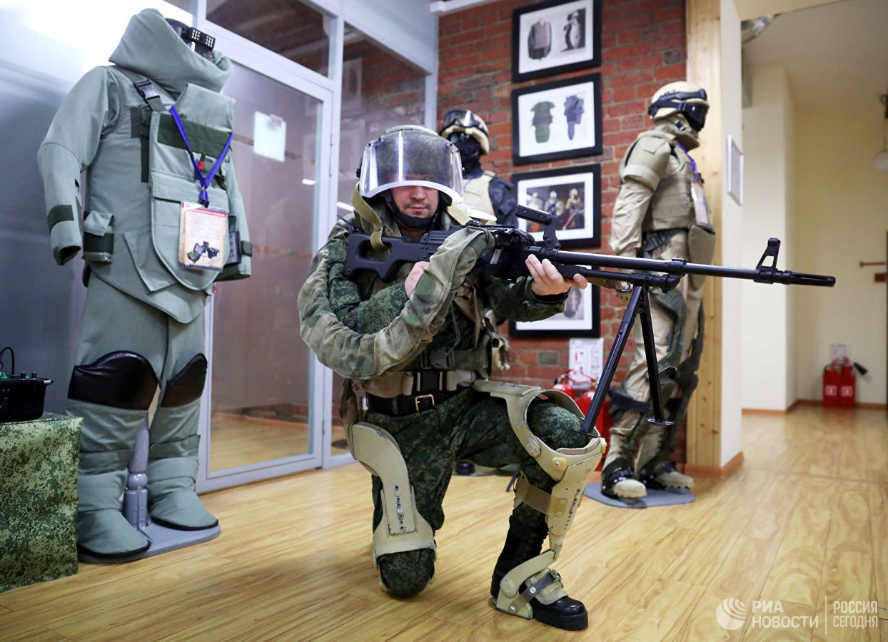 В этом году российские военные получат первый серийный армейский экзоскелет