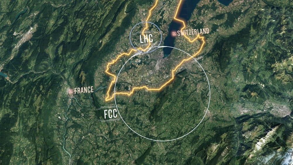 ЦЕРН снова хочет построить самый большой и крутой коллайдер частиц во Вселенной