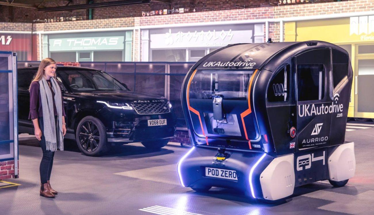 Jaguar придумала язык для общения людей и автомобилей