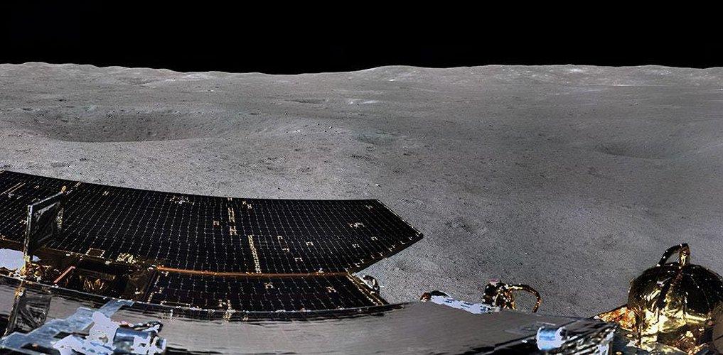 Китайский зонд «Чанъэ-4» провел биологический эксперимент на обратной стороне Луны