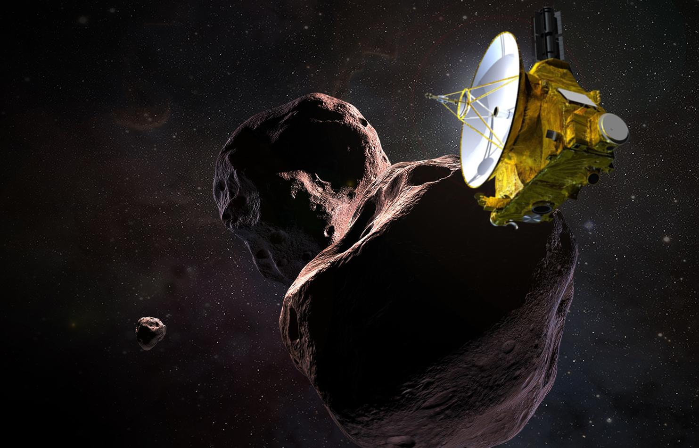 Тематичненько: ледяной объект, который мы нашли за Плутоном, напоминает снеговика
