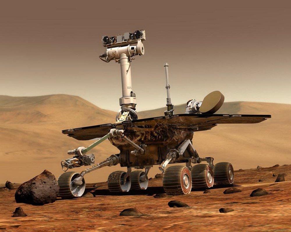 Марсоход «Оппортьюнити» отметил свое пятнадцатилетие на Красной планете полной тишиной