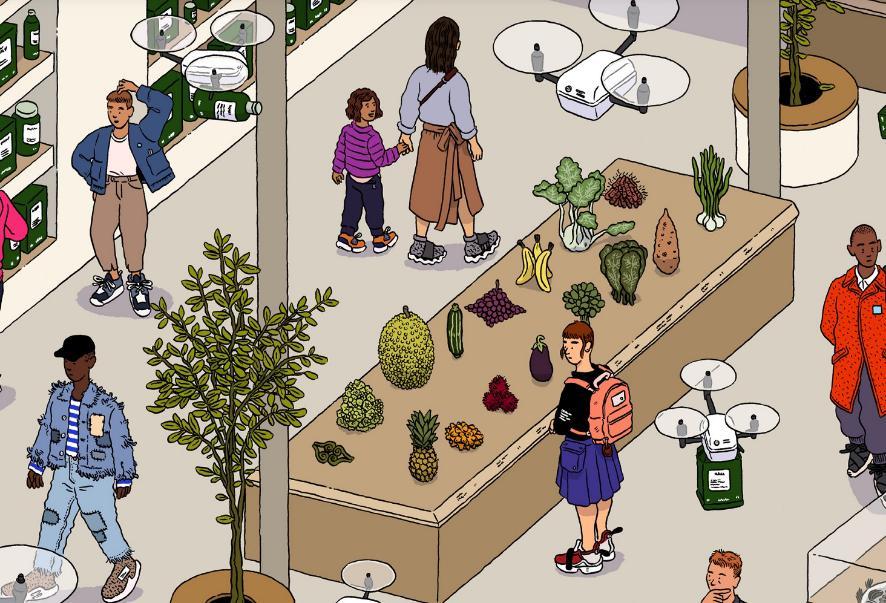 В будущем не вы будете ходить в магазин за едой, а еда из магазина — к вам