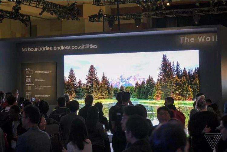 #CES | Samsung показала новые модульные микросветодиодные телевизоры