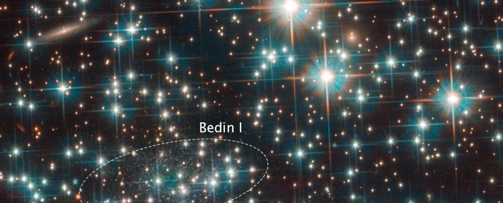 Телескоп «Хаббл» случайно открыл крошечную галактику рядом с Млечным Путем