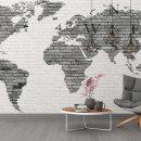 Качественные детские фотообои карта мира